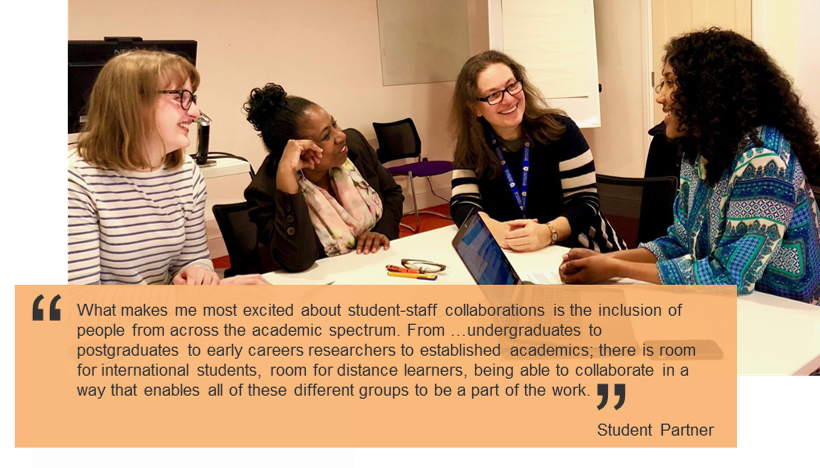 Image of student-staff collaboration